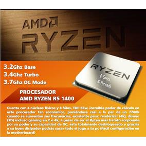 Procesador O Cpu Amd Ryzen 5 1400
