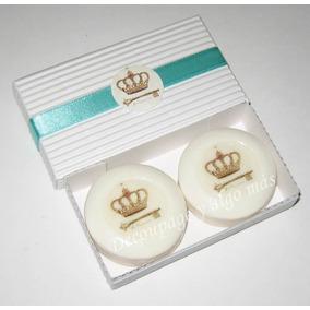 Jabones 30 Gr. Decorados Cajax2 Un. Souvenirs Personalizados