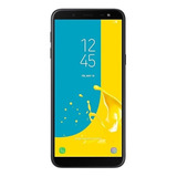 Smartphone Samsung Galaxy J6 Tv Preto Tela 5.6 Android 8.0