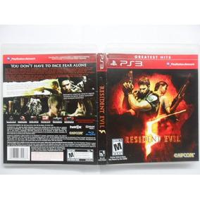 Frete Grátis Resident Evil 5 Greatest Hits Ps3 (dvd)