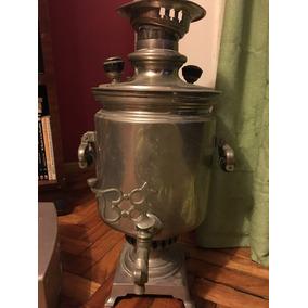 Samovar Antiguo Ruso 1888 - Buen Estado A Restaurar