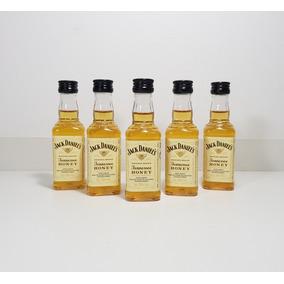 Conjunto 10 Miniaturas Whisky Jack Daniels Honey 50ml