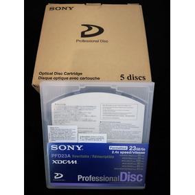 Xdcam Sony -caixa Com 5 Discos