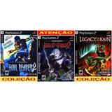 Soul Reaver Ps2 Legacy Of Kain Coleção (3 Dvds) Patch