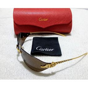 61844c92fda8b Gafas Cartier Edition Santos Dumont 130 Roja · Lentes De Sol Cartier Jaguar  Made In France