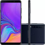 Celular Samsung Galaxy A9 Preto A920 128gb 6gb Ram Tela 6.3