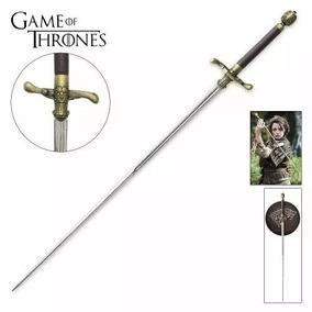 Espada Agulha Arya Stark Game Of Thrones Em Aço + Suporte