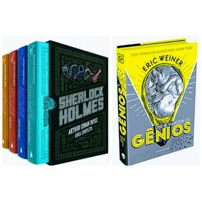 Box Livro Sherlock Holmes Obra Completa + Onde Nascem Gênios