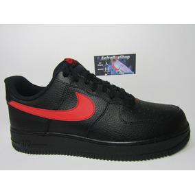 f96f0aacbb3 Rojo Nike Air Force One Negro - Tenis Nike de Hombre en Mercado ...