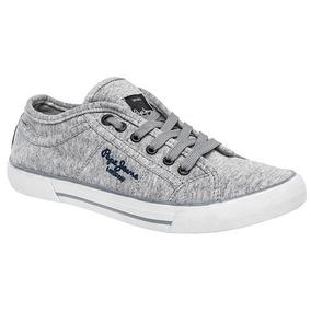 Tenis Pepe Jeans Sneaker Ford Men Gris Dtt 00256