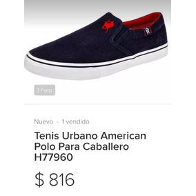 Tenis Casuales Polo Ralph Lauren Azul en Mercado Libre México b4ece10ba1c