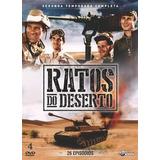 Box Dvd: Ratos Do Deserto 2ª Temporada - Original Lacrado