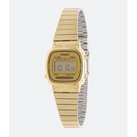 e373f010e2f Relogio Feminino Dourado Digital - Relógio Casio Feminino no Mercado ...