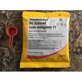 Terramicina Pó Solúvel 100g P/tratamento De Doenças Em Geral