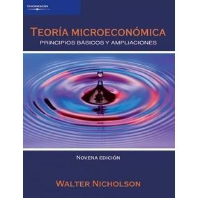 libro teoria microeconomica walter nicholson 9 edicion