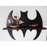 Prateleira Batman Em Mdf Para Quarto Infantil