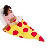 Saco De Dormir Slim Em Formato De Pizza Manta Cobertor
