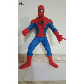 Boneco Homem-aranha Emborrachado Articulado 45cm Spider-man