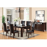 Furniture Of America Renolds 7 Piece Dining Table Set