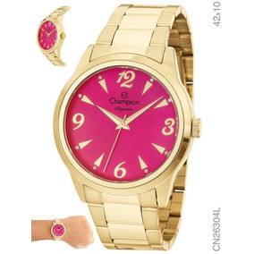 a6f0d43d1fc Relogio Feminino Champion Rosa Pink Interior Sao Paulo - Relógios De ...