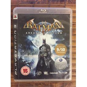 Jogo Ps3 - Batman Arkham Asylum - Frete Barato