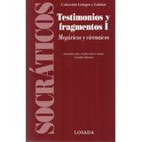 Testimonios Y Fragmentos Socráticos 1 (lo)