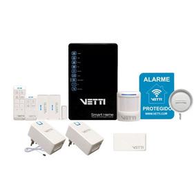 Kit Smart Home Vetti / Sistema De Automação E Alarme