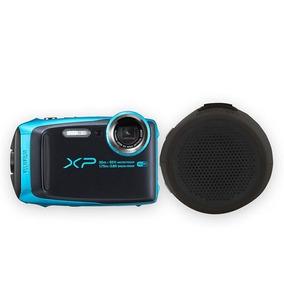 Fujifilm Camara Finepix Xp120 Azul Cielo + Bocina Braven - (