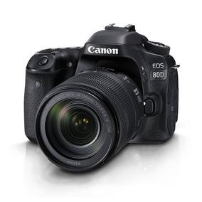 Câmera Profissional Canon Eos 80d Kit Lente De 18-135mm Nano