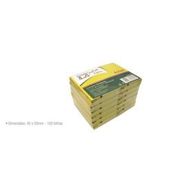 Bloco Adesivo Tipo Post-it 40x50cm 100fls Amarelo 24 Blocos