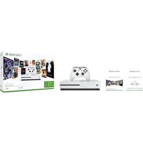 Xbox One S 1tb Microsoft - 3 Meses Live Gold E Gamepass