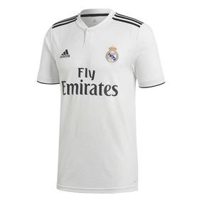 Jersey Real Madrid adidas Temporada 2018-2019 Uefa Parches 9abc1ff534874