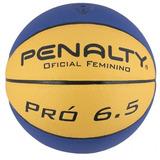 Bola Basquete Penalty Pro 6.5 Oficial Feminino Cbb