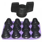 Jogo De Travas P  Chuteira De Rosca Nylon C 12 Unidades + Nf 566cacdd5c94b