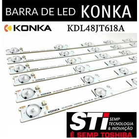Kit 6 Barras De Led Semp Toshiba 48l2400 48l5400 Dl4844