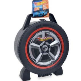 Maleta Hot Wheels Roda Radical 36 Carros Original Fun