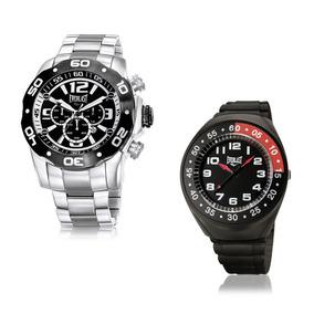 Relógio Everlast Masculino Analógico E548 Prata