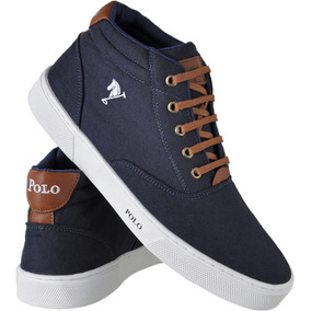 Sapatenis Polo Bra Masculino Sapato Casual Botinha Lancamen