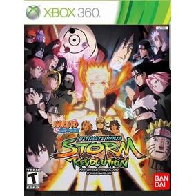 Naruto Storm Revolution -mídia Digital Xbox 360 - Ltf Games