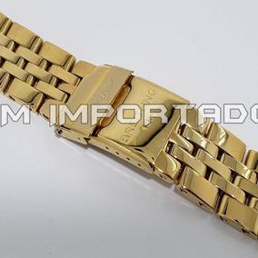 a40cadd274f Pulseira Em Aço Inox Relogio Breitling - Relógios no Mercado Livre ...