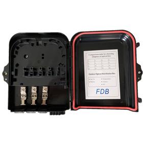 2 X Caixa De Atendimento Óptica (cto) - Ftth 8 Portas + Nfe