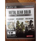 Metal Gear Solid Hd Collection Ps3* Play Magic