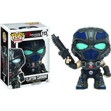 Funko Pop Clayton Carmine 113 - Gears Of War