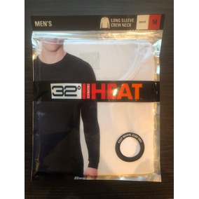 Camiseta Térmica 32 Degrees Heat Caballero Blanca Talla M