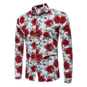 Camisa Flor Hombre - Camisas de Hombre en Mercado Libre Chile 9b5c7507ac1b5