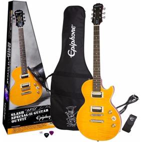 Guitarra Epiphone Les Paul Special Slash Afd Signature + Bag