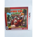 Donkey Kong Country Returns De Nintendo 3ds Nuevo Y Sellado