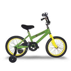 Bicicleta De Niño Rodado 16 John Deere