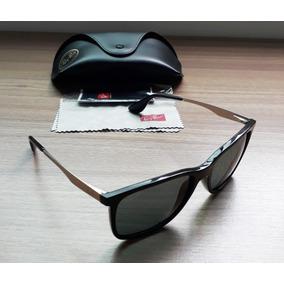 40f2dc14417b3 Óculos De Sol Ray Ban. Usado · Ray Ban - Rb4271l 62687155 - Preto  Prata verde (novíssimo)