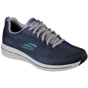Tenis Skechers Burst 2.0 Azul Marino Deportivo Memory Foam